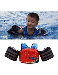 Vine Manguitos de natación para niños brazo pecho banda flotadores flotación mangas natación entrenadores chaleco salvavidas