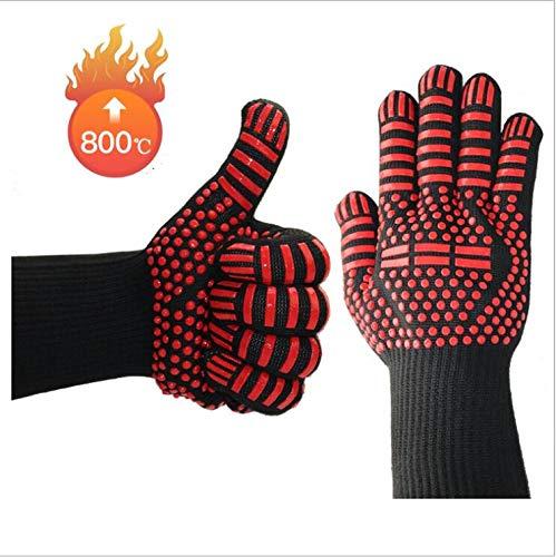 Amzefef Professional Induktionskochfeld Handschuh hitzebeständiger für das Kochfeld, Induktionskochfeld -