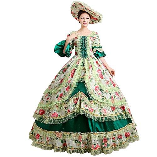 Partiss - Robe - Femme X-Large Vert foncé