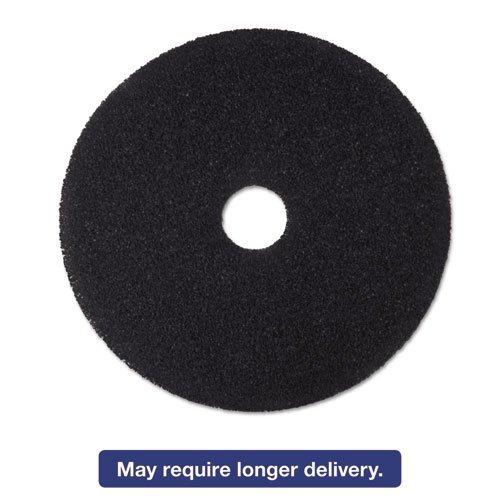 3m-low-speed-stripper-floor-pad-7200-24-black-5-carton-by-3m