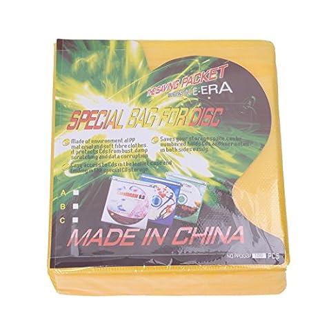 TOOGOO(R) 100 CD Huelsen (Zufaellige Farbe)