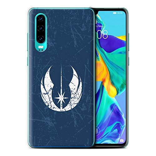 eSwish Hülle/Case für Huawei P30 2019 / Jedi-Befehl Inspiriert Muster/Galaktisches Symbol Kunst Kollektion (Symbole Galaktische)