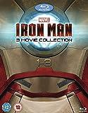 Iron Man 1 3 Collection (3 Blu-Ray) [Edizione: Regno Unito] [Edizione: Regno Unito]