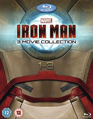 Iron Man 1-3 [Blu-ray] [Import anglais]
