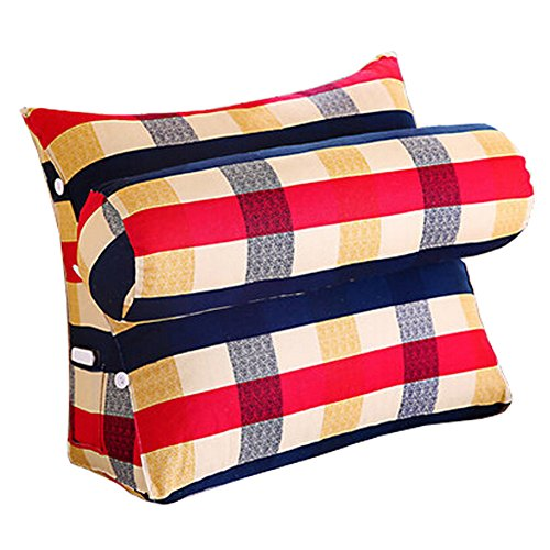 Home / Office Triangle Soutien lombaire Coussin dossier Oreiller, A