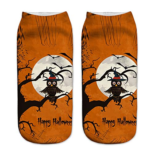 Halloween Party Set Halloween Muster Socken 5090 Style One Size 1 Paar für Festival Cosplay Halloween Kostüm