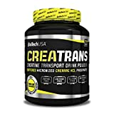 Biotech USA CreaTrans Creatin Transport, 1KG Dose , Red Berry (2er Pack)