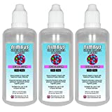 Triple Pack – 3x 100ml Bubblegum E Liquid 80/20 Cloud Chaser Vape Juice Sub Ohm Juice Shisha Vape Liquid 0mg eJuice E Cigarette Liquid Ecig Juice (Nimbus E Liquid)