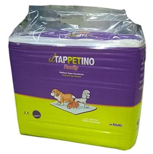 Tappetini Igienici Assorbenti Per Cani e Gatti Animali Domestici - IL Tappetino Family Traverse 60x90 180 Pezzi