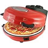 Italian Stonebake Pizza Oven - Deep Pan Home Pizza Maker - Includes Pizza Cutter