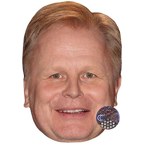 Preisvergleich Produktbild Celebrity Cutouts Herbert Gronemeyer (Smiling) Maske aus Pappe