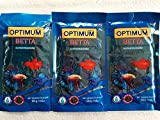 Petzlifeworld Optimum Betta Fighter Colour and Tails Growth Food for Fish (60 g)