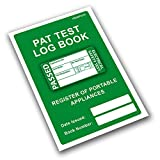 PAT Test Log Book & Register of Portable Appliances