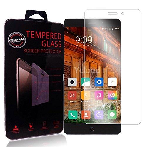 Ycloud Panzerglas Folie Schutzfolie Bildschirmschutzfolie für Elephone P9000 screen protector mit Härtegrad 9H, 0,26mm Ultra-Dünn, Abger&ete Kanten