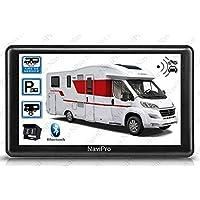 GPS Camping Car 7 pulgadas con cámara de marcha atrás inalámbrica HD