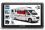 GPS Camping Car 7 Pouces avec Camera DE RECUL sans Fil HD Europe Gratuite A Vie