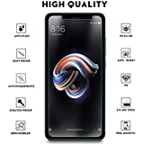Amagav Xiaomi Redmi Note 5 Pro Anti-Scratch Shatter Proof Protection Tempered Glass - Combo Pack of 2