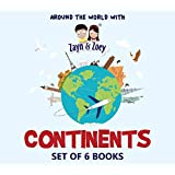 Zayn & Zoey CONTINENTS (Set of 6 books - Asia, Africa, North America, South America, Australia, Europe)