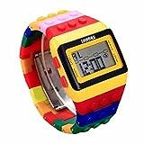 La confezione include:1PC oyedens unisex cinturino orologio da polso digitale colorato per bambini unisex