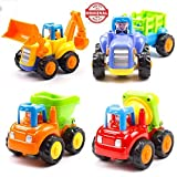 #2: higadget Unbreakable Automobile Car Toy Set ( 4 Toys )