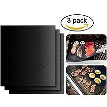 BBQ Barbacoa–Colchoneta bylove 3Barbecue Grill Horno antiadherente reutilizable Essentielles Barbacoa de accesorios para el hogar Cocineros y Grillmeister & # xff08; 40* 33CM & # xff09;