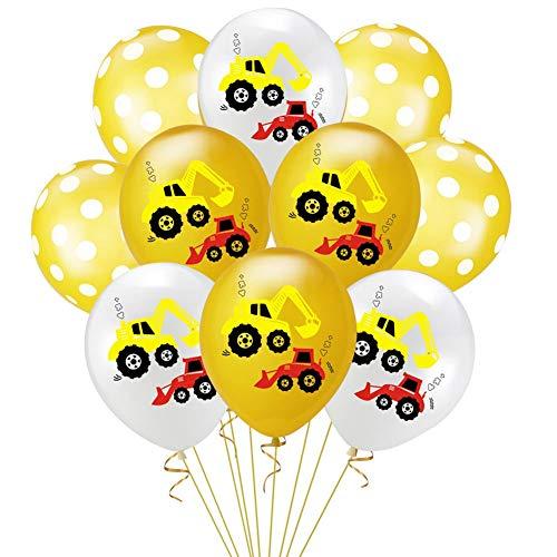 ck Bauthemen Geburtstag Party Supplies Bagger Flagge Gold Band Kuchen Einsatz Geburtstag Party Dekoration ()