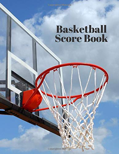 """Basketball Score Book: Unique Statistics Record, Game Keeper Logbook, Home Throws, Fouls, Scores, Free Throws, Home Score, Visitors Score, Fearless ... 8.5\""""x11\"""" (Basketball Stats Log, Band 26)"""