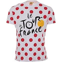 Tour de France tdf-sa-3065BLC L camiseta adulto hombre, lunares, FR: L (talla fabricante: L)