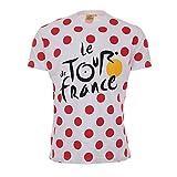 Tour de France tdf-sa-3065BLC 2x L T-Shirt Erwachsene Herren, Gepunktet, fr: XXL (Größe Hersteller: XXL)