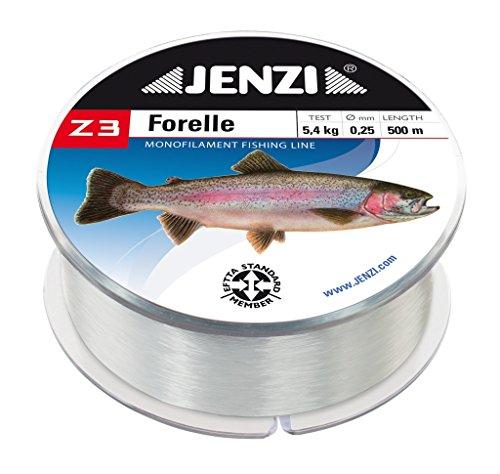 forellenschnur Angelschnur Z3 Line Forelle, 0,25mm, 4,8kg, 500m