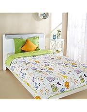 Amazon Brand - Solimo Microfibre Printed Quilt Blanket