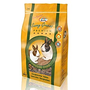 Rabbit Food Quiko Sunseed Sunny Greens 800g from Quiko