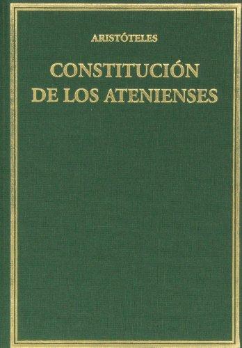 Constitución de los atenienses (Alma Mater) por Aristóteles