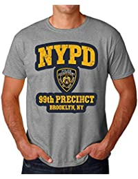 3677bddecd9dc PasTomka NYPD Police Departement 99th Precincy Brooklyn Men s T-Shirt  Hombre Camiseta Large