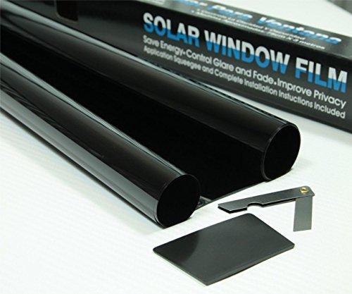 Unbranded Super Limo Negro 5% Parabrisas Tinte Rollo 5m x 75cm Tintado Película