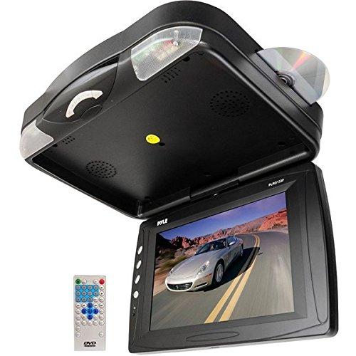 Pyle B002E36GWC 30,7 cm (12,1 Zoll) Deckenmonitor TFT LCD Monitor mit eingebautem Multimedia-Disc-Spieler