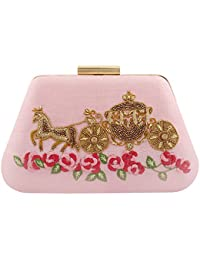 Puneet Gupta Women's Clutch (Pink)