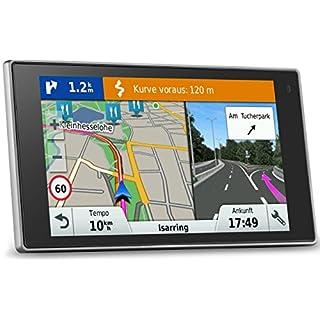 Garmin DriveLuxe 50 LMT EU PKW-Navi - 5'' Touch-Glasdisplay, lebenslange Kartenupdates, Verkehrsfunklizenz, Premium Design (Zertifiziert und Generalüberholt)