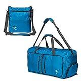 Coreal Unisex Faltbare Sporttasche Große Reisetasche 80L Blau