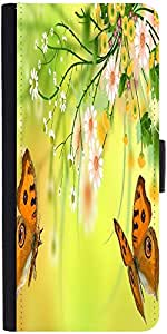 Snoogg Butterfly Around The Summer 2601 Designer Protective Flip Case Cover F...