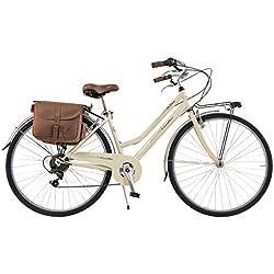 Via Veneto By Canellini Bicicleta Bici Citybike CTB Mujer Vintage Retro Via Veneto Acero Nata