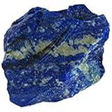 Weehey 100g Lapislazzuli Ruvido Naturale Cristallo Pietra preziosa Grezza Pietra Minerale Serbatoio di Pesce Decor Gioielli F