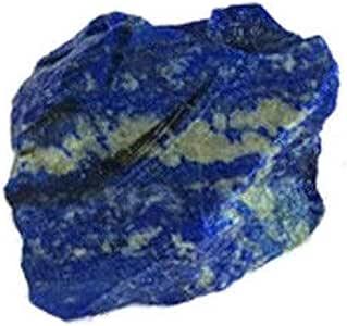 Blusea 100g Natürliche Raue Lapislazuli Kristall Rohedelstein Mineral Stein Aquarium Decor Schmuck DIY