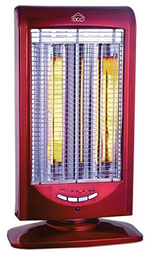 DCG Eltronic SA9822 T 1000W Red electric space heater - Electric Space...