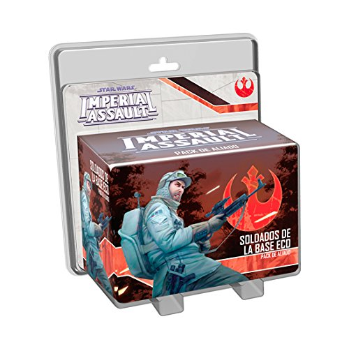 Fantasy Flight Games- Star Wars Imperial Assault, Soldados de la Base Eco (Edge Entertainment EDGSWI23)