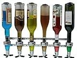 Kronenburg Bar Butler Wand - Getränkeportionierer für 6 Flaschen