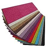Shaggy Läufer Barcelona | weicher Hochflor Teppichläufer für Flur, Wohnzimmer, Schlafzimmer etc. | mit GUT-Siegel und Blauer Engel | in vielen Größen | moderne Farben | 100x350 cm | Pink
