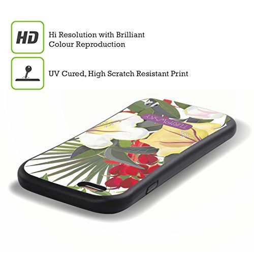 Ufficiale Turnowsky Flora e Fauna Tropicale 2 Havannah Case Ibrida per Apple iPhone 7 / iPhone 8 Fogliame Tropicale