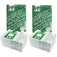 Numatic Henry Hetty etc Hepa Flo Bolsas Aspiradora (10, 20 o 40 Pack + Opcional Mochila Varitas Ambientadores) - 20 bolsas