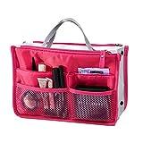 witery Voyage Essential bags-in-bag, Organiseur pour Voyage sac de rangement en maille iPad cas sac Maquillage Cosmétique Beauté Lavage Sac, Rose/rouge (Rouge) - SPTA0016-01